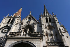 Igreja de Nizier de Saint Imagem de Stock