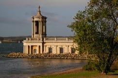 Igreja de Normanton foto de stock