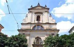Igreja 'de nossa senhora' Imagens de Stock Royalty Free