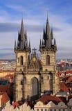Igreja de nossa senhora antes de Tyn Imagem de Stock Royalty Free