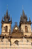A igreja de nossa senhora antes de Týn Praga, República Checa imagens de stock royalty free