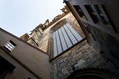 Igreja de nossa senhora antes de Tyn, Praga, república checa Fotos de Stock Royalty Free