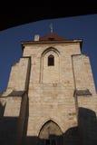Igreja de nossa senhora Beneath a cadeira, quadrado maltês; Praga fotografia de stock