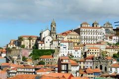Igreja de Nossa Senhora da Vitória, Porto Old City, Portugal Stock Photos