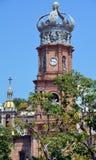 Igreja de nossa senhora de Guadalupe fotos de stock