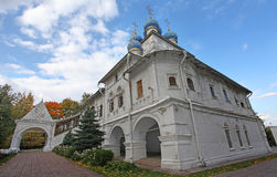 Igreja de nossa senhora de Kazan Kolomenskoye, Moscovo Imagem de Stock Royalty Free