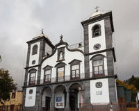 Igreja de Nossa Senhora do Monte. Church (English: Our Lady of the Mount) in the parish of Monte, Funchal on the Portuguese island of Madeira Stock Image