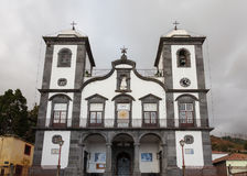 Igreja de Nossa Senhora do Monte. Church (English: Our Lady of the Mount) in the parish of Monte, Funchal on the Portuguese island of Madeira Stock Photos