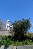 Igreja de Nossa Senhora do Monte, Funchal. Exterior view, burial place of last austro - Hungarian emperor , Charles 1st Stock Images