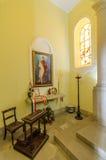 Igreja de Nossa Senhora do Monte, Funchal. Interior, view, burial place of last austro - Hungarian emperor , Charles 1st Royalty Free Stock Photo