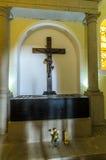 Igreja de Nossa Senhora do Monte, Funchal. Interior, view, burial place of last austro - Hungarian emperor , Charles 1st Royalty Free Stock Image