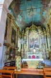 Igreja de Nossa Senhora do Monte, Funchal. Interior, view, burial place of last austro - Hungarian emperor , Charles 1st Stock Photography
