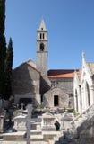 Igreja de nossa senhora dos anjos imagem de stock