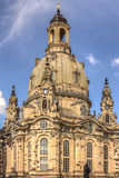 Igreja de nossa senhora, Dresden Fotos de Stock Royalty Free