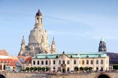 Igreja de nossa senhora em Dresden Foto de Stock Royalty Free