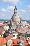Igreja de nossa senhora em Dresden imagens de stock royalty free