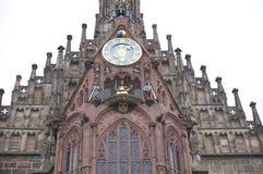 Igreja de nossa senhora, Nuremberg Foto de Stock Royalty Free