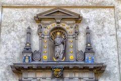 Igreja de nossa senhora Victorious em Mala Strana Foto de Stock