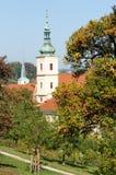 Igreja de nossa senhora Victorious, Praga Foto de Stock Royalty Free