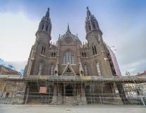 Igreja de nosso cerco do vom da senhora Victorious Kirche Maria em Viena Áustria Foto de Stock