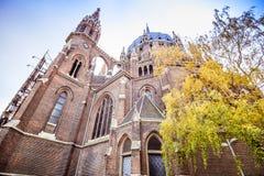 Igreja de nosso cerco do vom da senhora Victorious Kirche Maria em Viena Áustria Fotos de Stock
