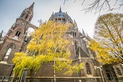 Igreja de nosso cerco do vom da senhora Victorious Kirche Maria em Viena Áustria Fotografia de Stock Royalty Free