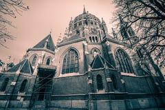Igreja de nosso cerco do vom da senhora Victorious Kirche Maria em Viena Áustria Fotos de Stock Royalty Free