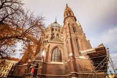 Igreja de nosso cerco do vom da senhora Victorious Kirche Maria em Viena Áustria Fotografia de Stock