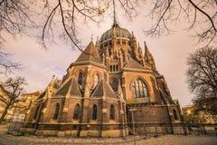 Igreja de nosso cerco do vom da senhora Victorious Kirche Maria em Viena Áustria Imagem de Stock