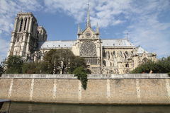 Igreja de Notre Dame, Paris, França Fotografia de Stock Royalty Free