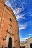 Igreja de Nuestra Señora del Consuelo no quadrado de Altea imagem de stock royalty free
