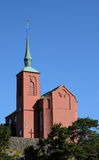 Igreja de Nynashamn Imagem de Stock