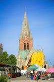 Igreja de Olaus petri Fotografia de Stock