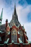 Igreja de Oscar Fredrik imagens de stock royalty free