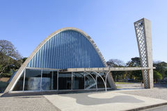 Igreja de Pampulha em Belo Horizonte, Brasil Fotos de Stock Royalty Free