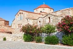 Igreja de Panagia Ekatontapyliani, Paros Fotos de Stock Royalty Free