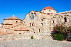 Igreja de Panagia Ekatontapyliani, Paros Foto de Stock Royalty Free