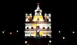 Igreja de Panjim Fotografia de Stock