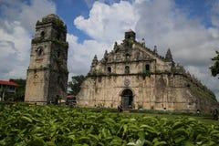 Igreja de Paoay Foto de Stock Royalty Free