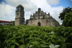 Igreja de Paoay Fotos de Stock Royalty Free
