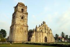 Igreja de Paoay, Filipinas Fotografia de Stock