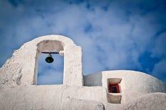 Igreja de Paraportiani, Mykonos imagem de stock