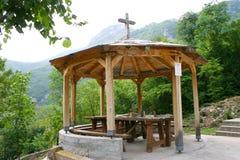 Igreja de pedra Fotos de Stock Royalty Free