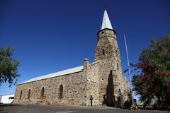 Igreja de pedra histórica fotografia de stock