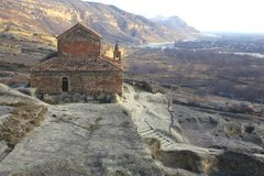 Igreja de pedra velha Fotografia de Stock