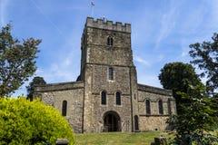 A igreja de Peter, Petersfield, Hampshire, Inglaterra, Reino Unido imagem de stock