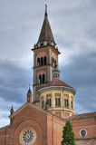Igreja de Piacenza. Emilia-Romagna fotos de stock royalty free
