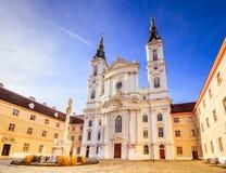 Igreja de Piarist em Viena, Áustria imagens de stock