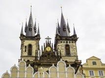 Igreja de Praga Fotos de Stock Royalty Free