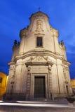 Igreja de Purgatorio em Matera Imagens de Stock